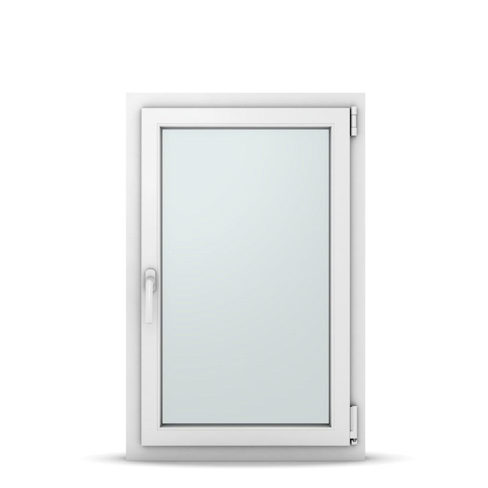 Wohnraumfenster 1-flg. Allegro Max Weiß 650x1000 mm DIN Dreh-Kipp Rechts-37047