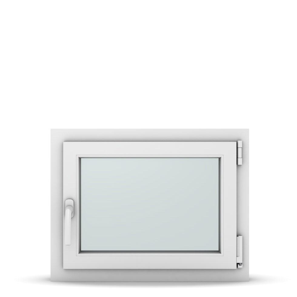 Wohnraumfenster 1-flg. Allegro Max Weiß 650x500 mm DIN Dreh-Kipp Rechts-37037