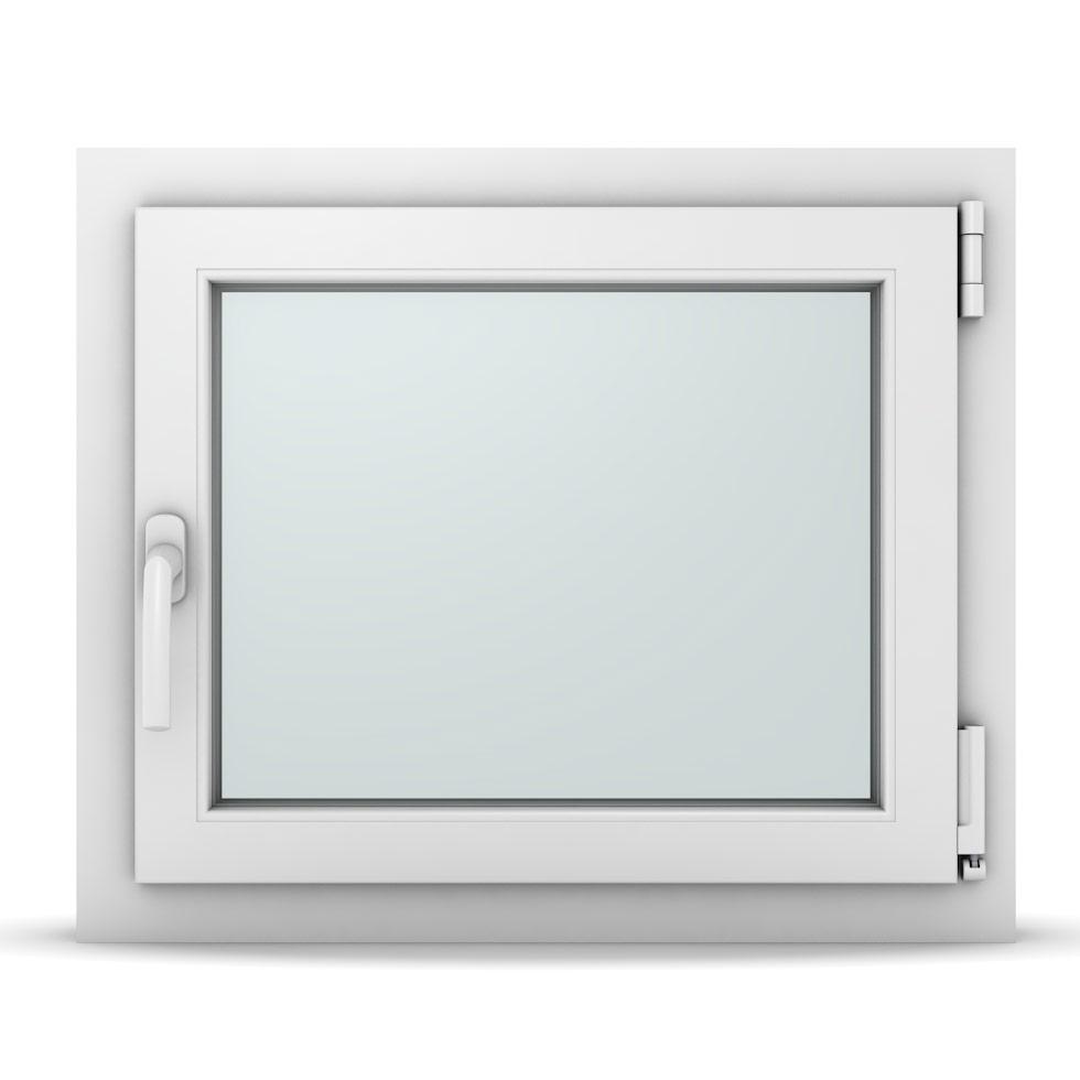 Wohnraumfenster 1-flg. Allegro Max Weiß 650x550 mm DIN Dreh-Kipp Rechts
