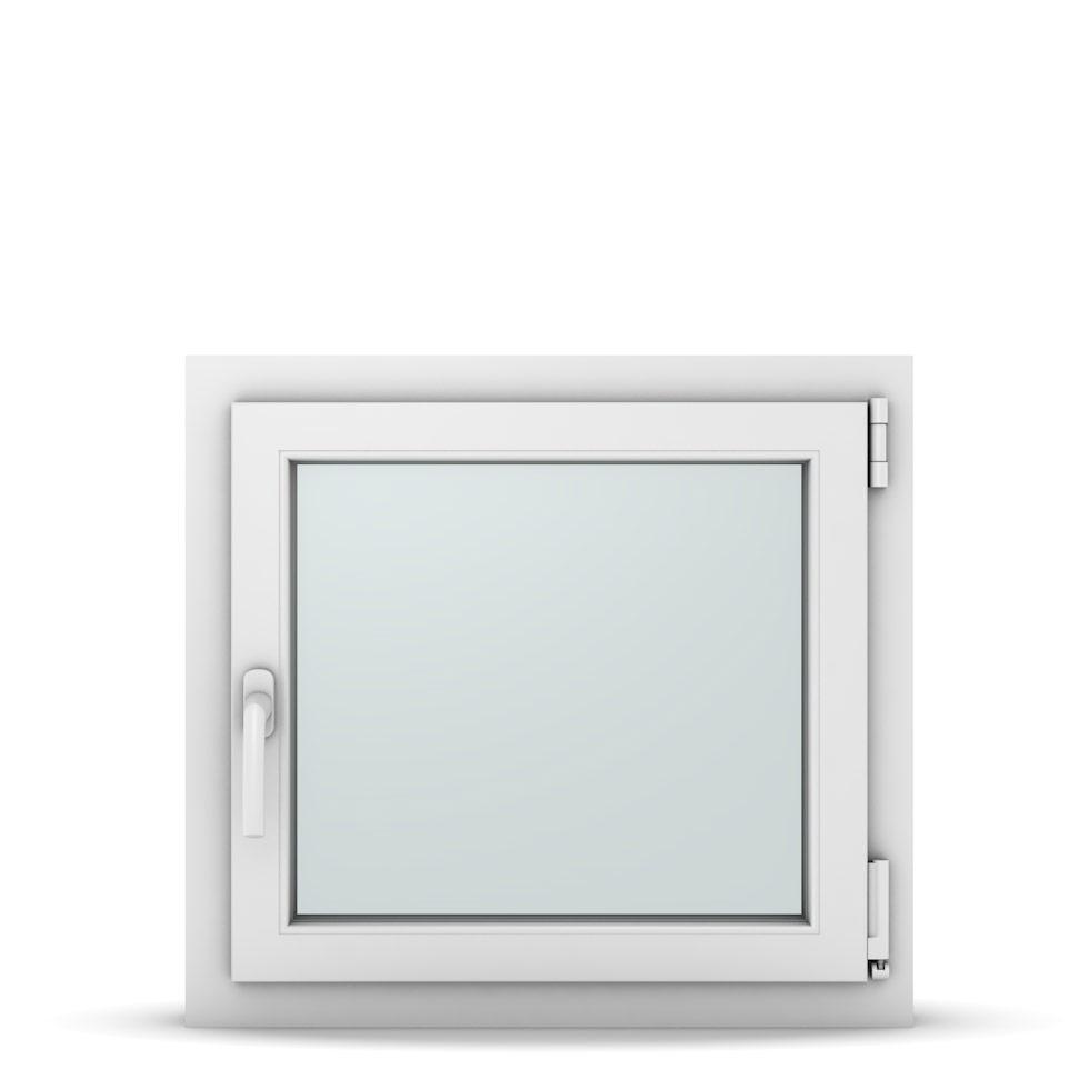 Wohnraumfenster 1-flg. Allegro Max Weiß 650x600 mm DIN Dreh-Kipp Rechts-37039