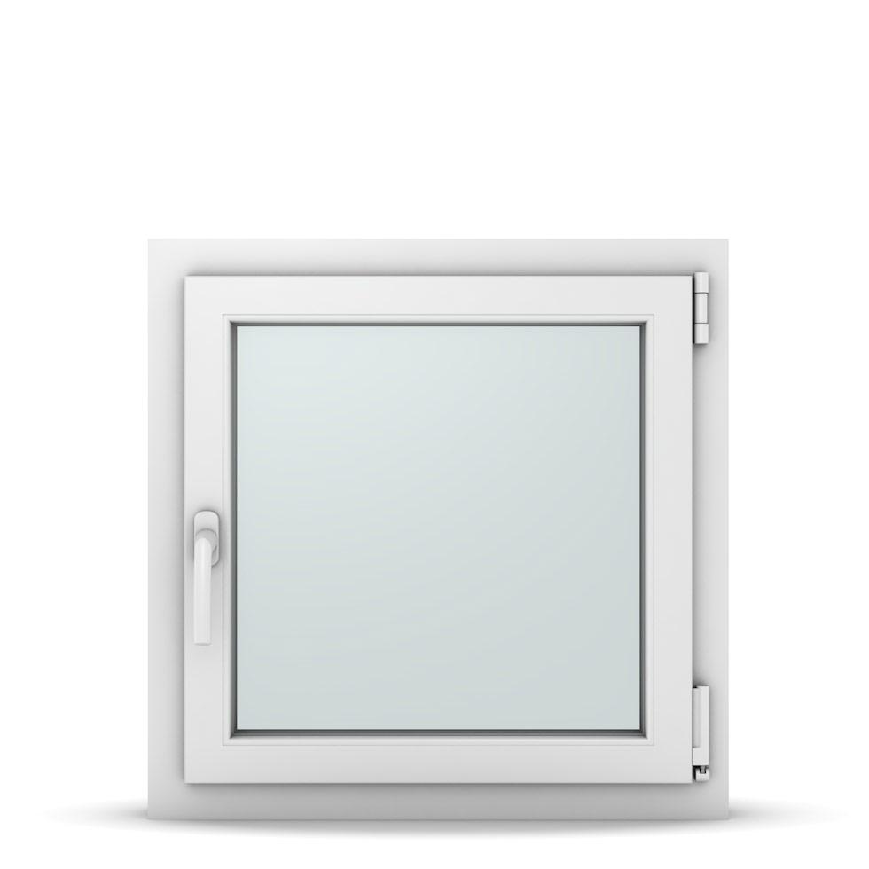 Wohnraumfenster 1-flg. Allegro Max Weiß 650x650 mm DIN Dreh-Kipp Rechts-37040