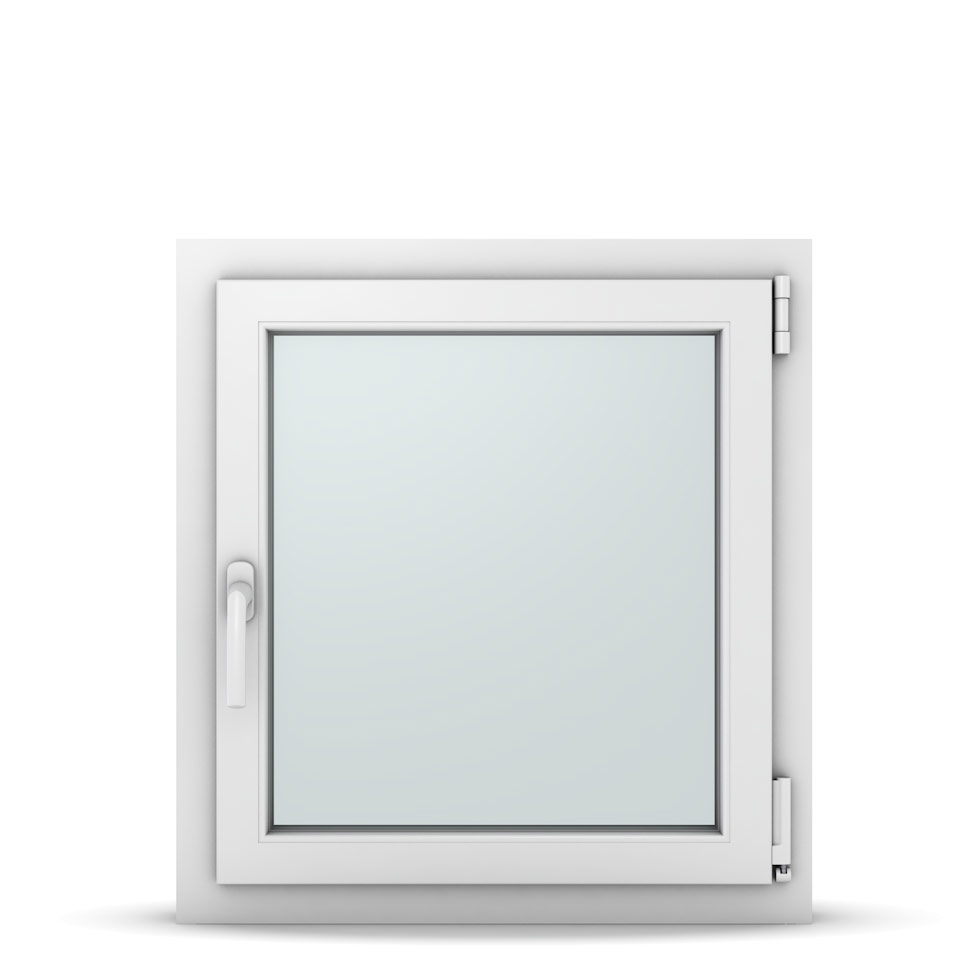 Wohnraumfenster 1-flg. Allegro Max Weiß 650x700 mm DIN Dreh-Kipp Rechts-37041