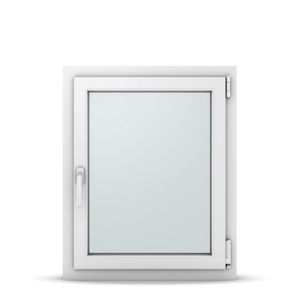Wohnraumfenster 1-flg. Allegro Max Weiß 650x800 mm DIN Dreh-Kipp Rechts-37043