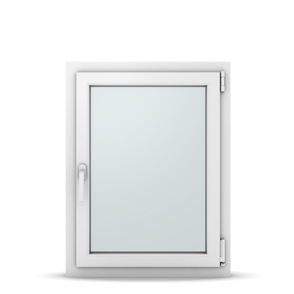 Wohnraumfenster 1-flg. Allegro Max Weiß 650x850 mm DIN Dreh-Kipp Rechts-37044