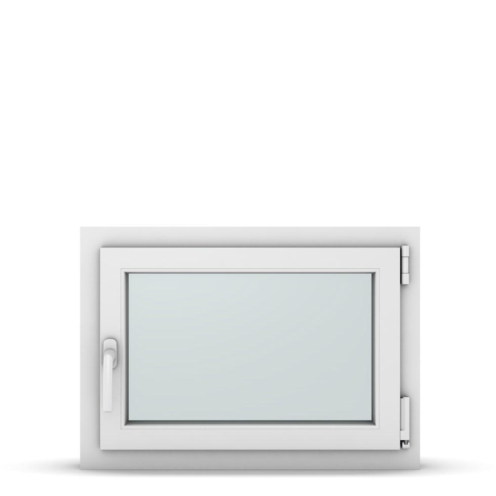 Wohnraumfenster 1-flg. Allegro Max Weiß 700x500 mm DIN Dreh-Kipp Rechts-37062