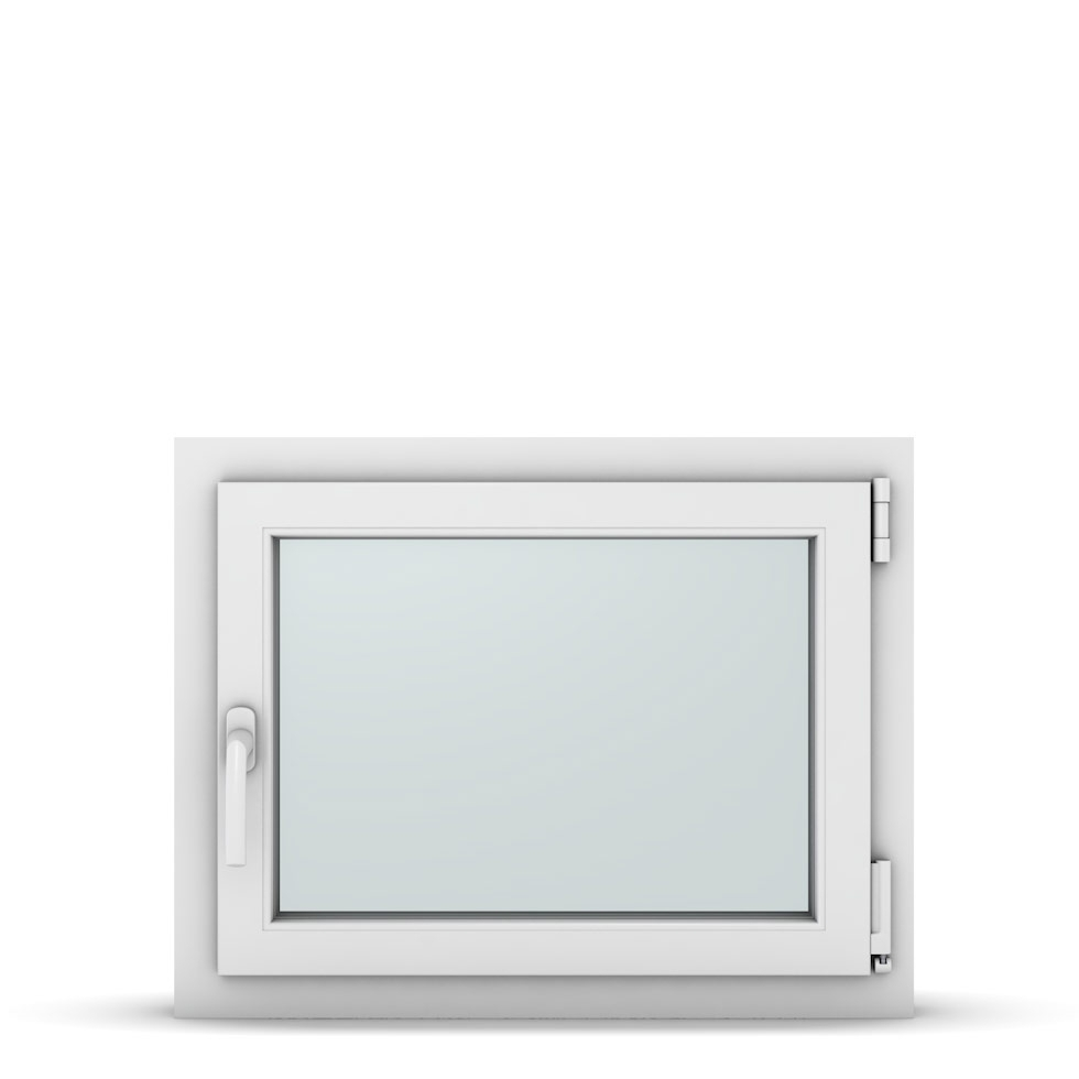 Wohnraumfenster 1-flg. Allegro Max Weiß 700x550 mm DIN Dreh-Kipp Rechts-37063
