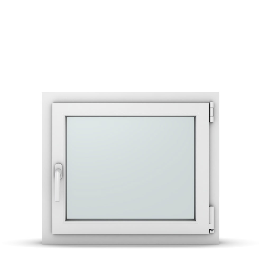 Wohnraumfenster 1-flg. Allegro Max Weiß 700x600 mm DIN Dreh-Kipp Rechts-37064