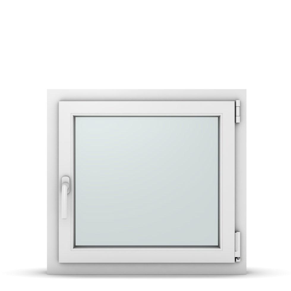 Wohnraumfenster 1-flg. Allegro Max Weiß 700x650 mm DIN Dreh-Kipp Rechts-37065