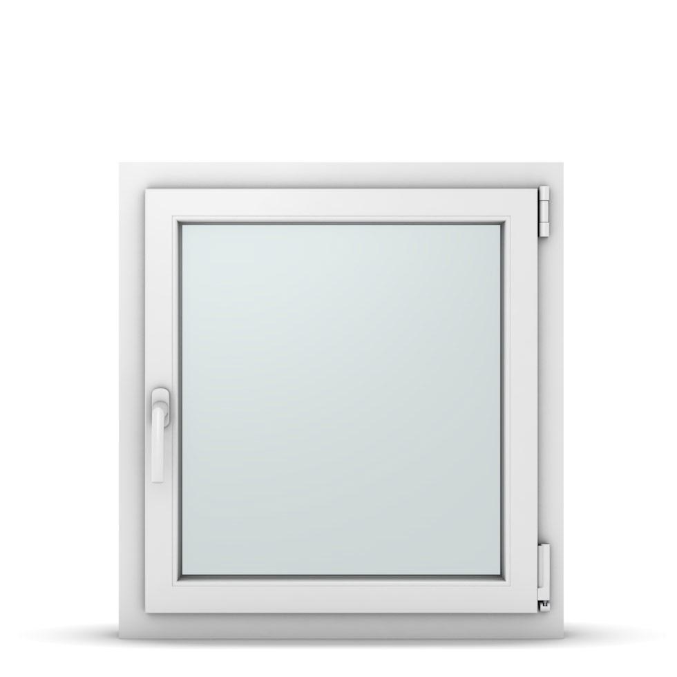Wohnraumfenster 1-flg. Allegro Max Weiß 700x750 mm DIN Dreh-Kipp Rechts-37067