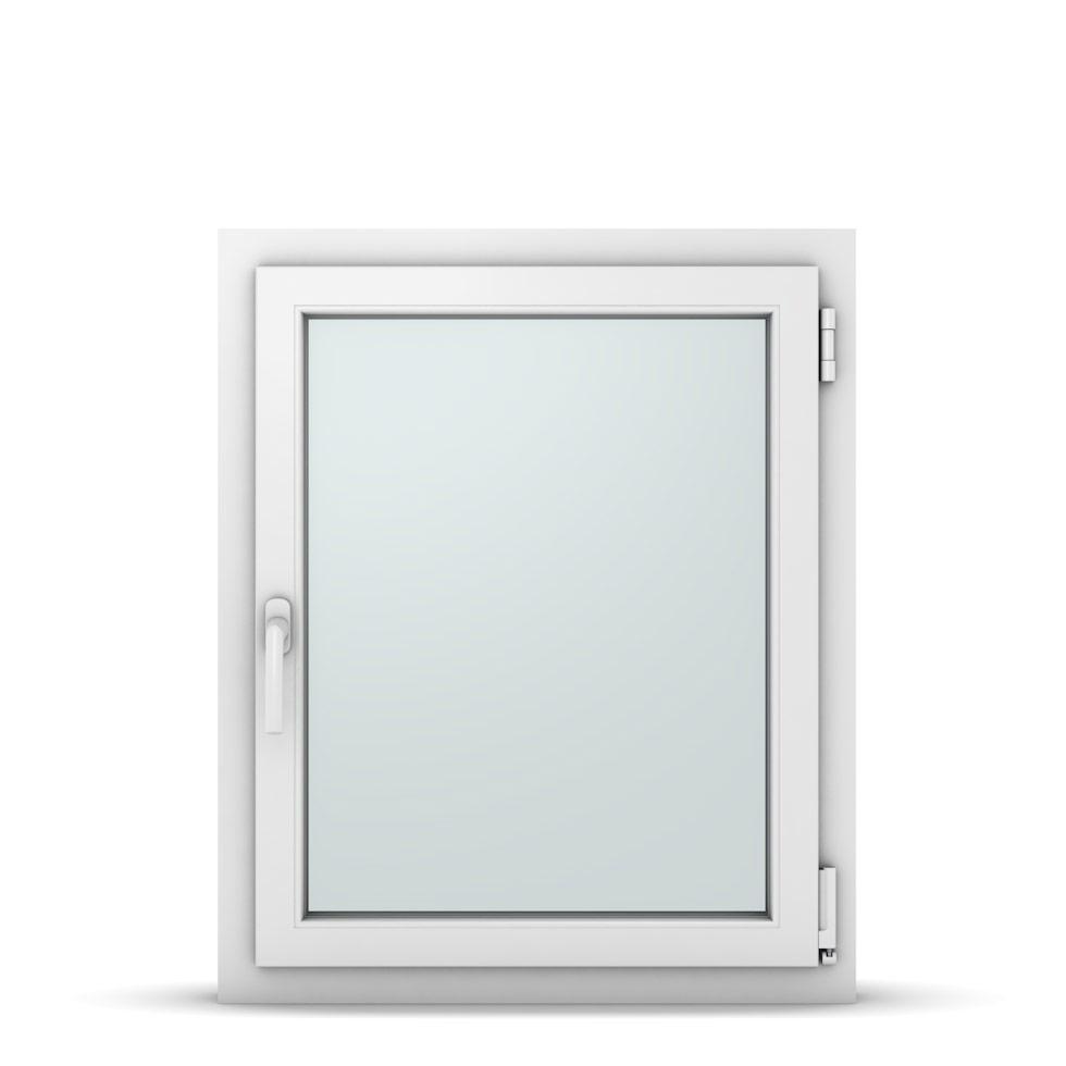 Wohnraumfenster 1-flg. Allegro Max Weiß 700x800 mm DIN Dreh-Kipp Rechts-37068