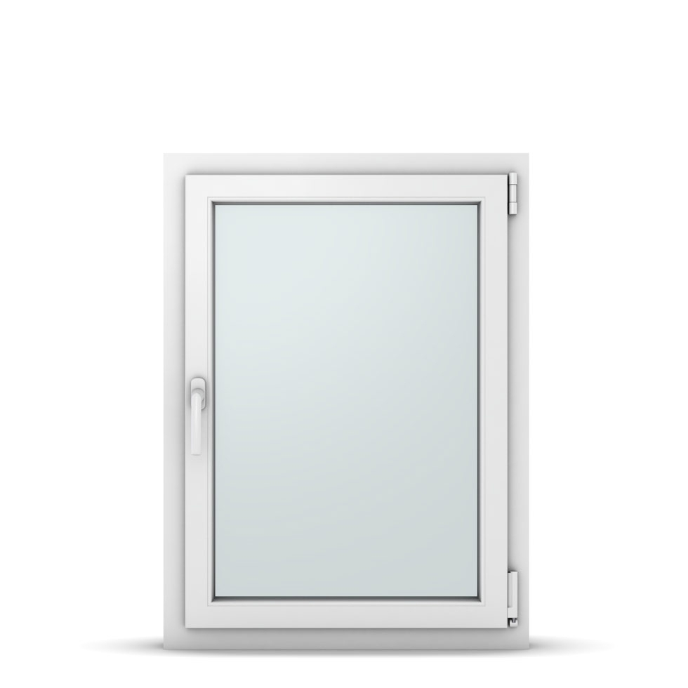 Wohnraumfenster 1-flg. Allegro Max Weiß 700x950 mm DIN Dreh-Kipp Rechts-37071