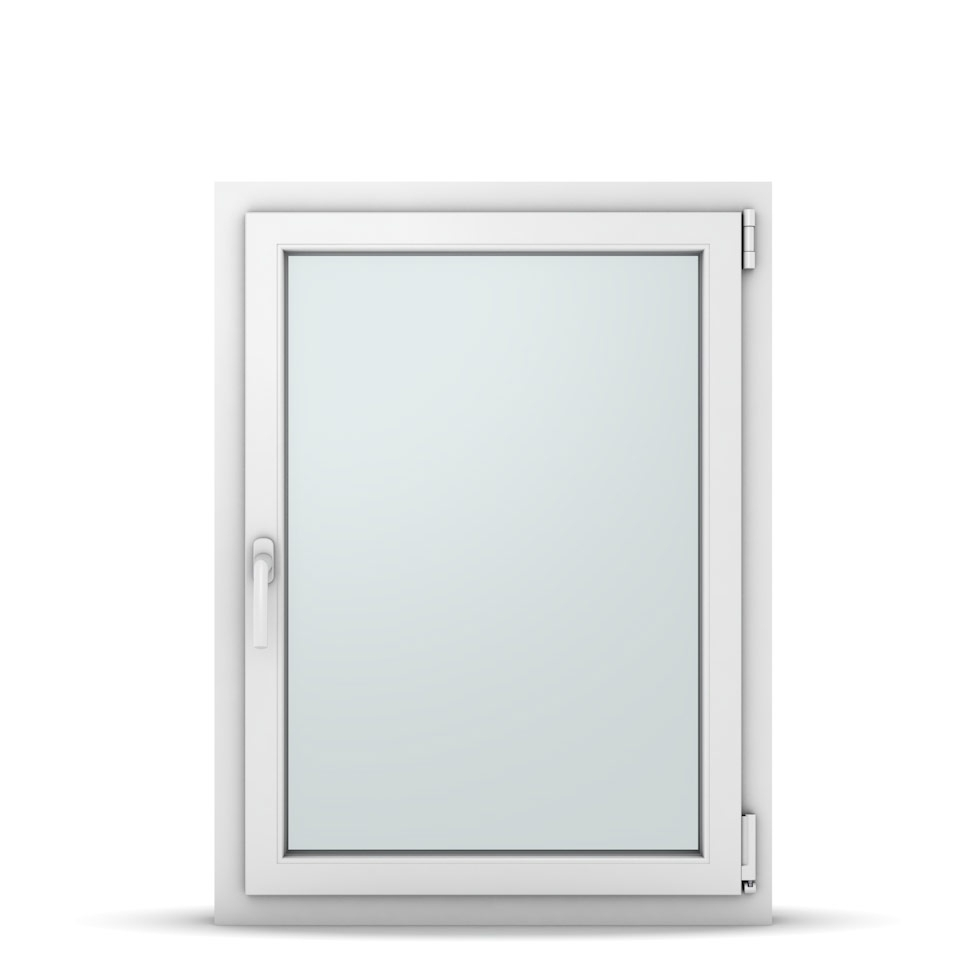 Wohnraumfenster 1-flg. Allegro Max Weiß 750x1000 mm DIN Dreh-Kipp Rechts-37097