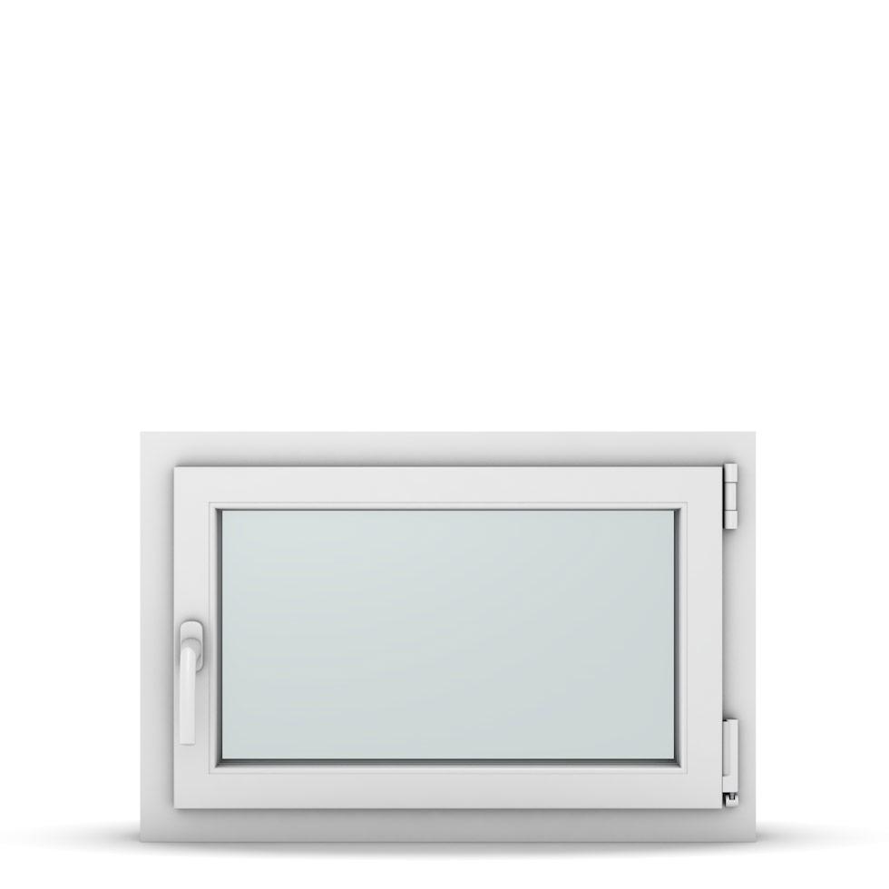 Wohnraumfenster 1-flg. Allegro Max Weiß 750x500 mm DIN Dreh-Kipp Rechts-37087