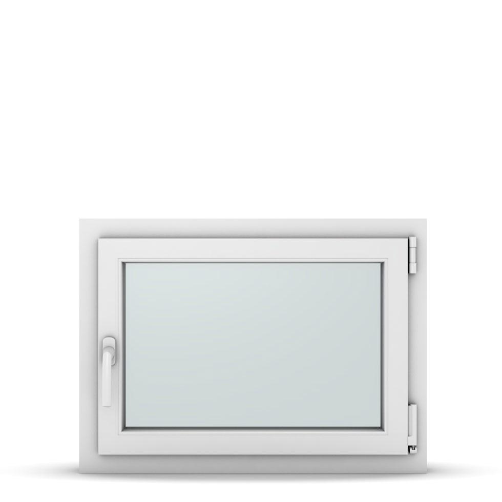 Wohnraumfenster 1-flg. Allegro Max Weiß 750x550 mm DIN Dreh-Kipp Rechts-37088