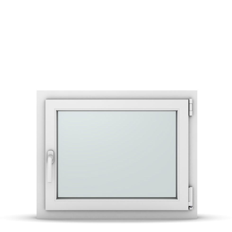 Wohnraumfenster 1-flg. Allegro Max Weiß 750x600 mm DIN Dreh-Kipp Rechts-37089