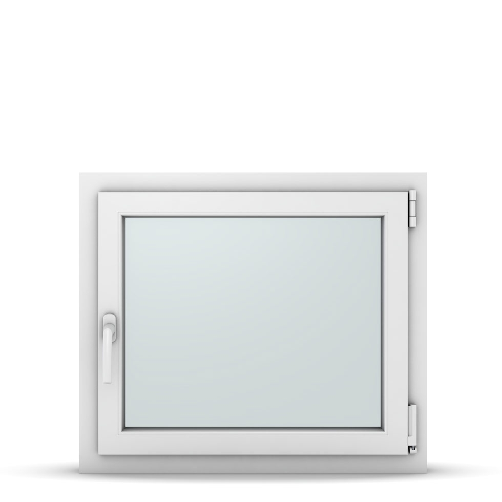 Wohnraumfenster 1-flg. Allegro Max Weiß 750x650 mm DIN Dreh-Kipp Rechts-37090