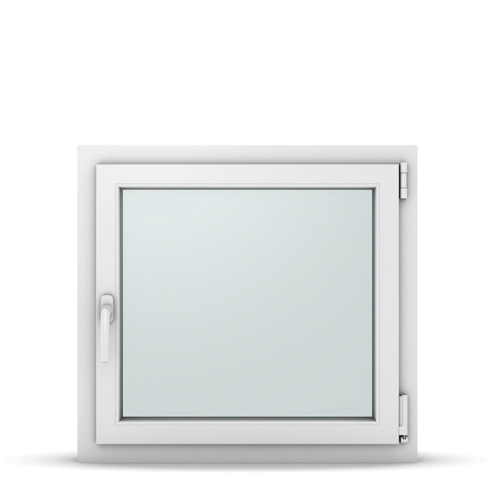 Wohnraumfenster 1-flg. Allegro Max Weiß 750x700 mm DIN Dreh-Kipp Rechts-37091