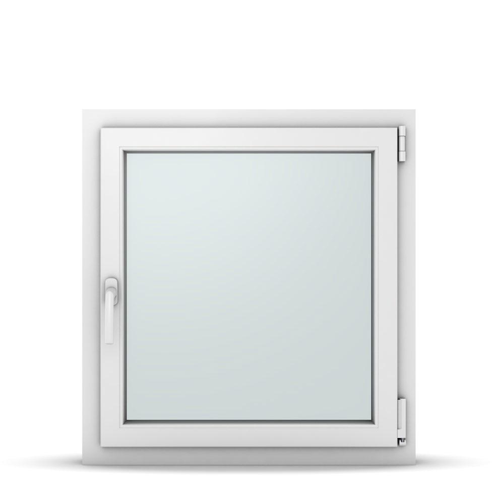 Wohnraumfenster 1-flg. Allegro Max Weiß 750x800 mm DIN Dreh-Kipp Rechts-37093