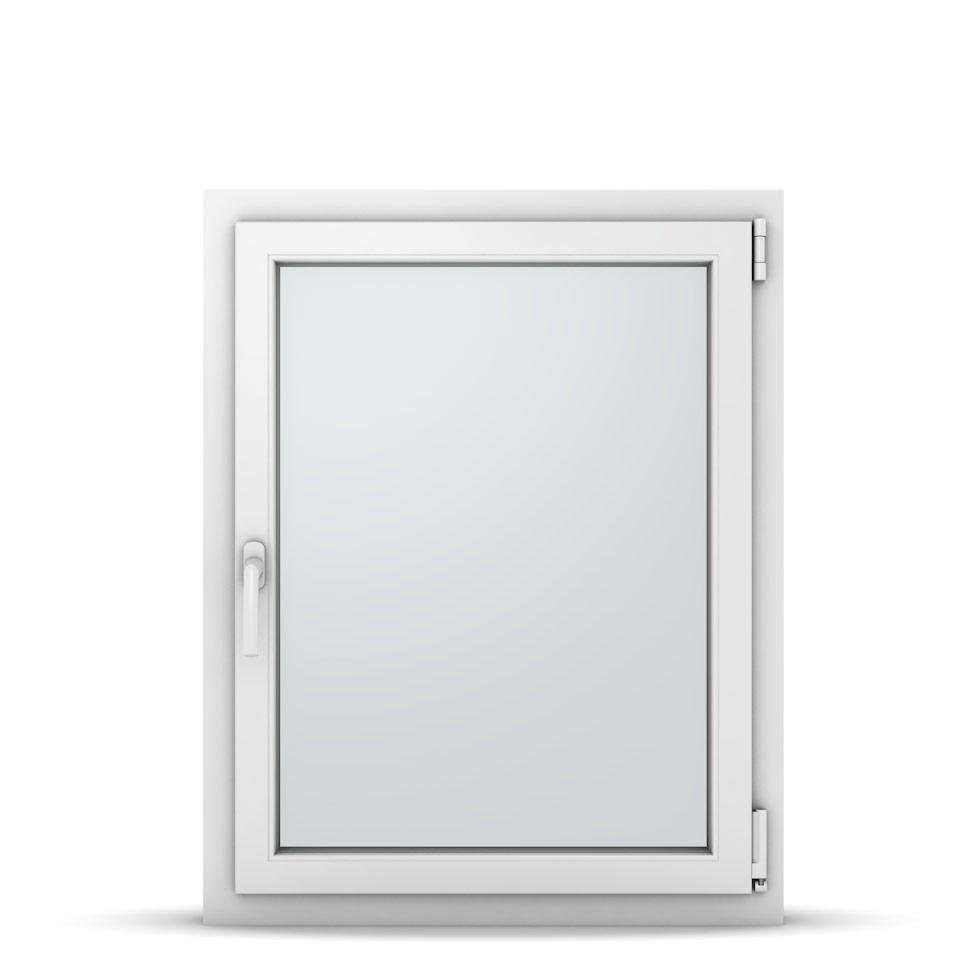 Wohnraumfenster 1-flg. Allegro Max Weiß 750x950 mm DIN Dreh-Kipp Rechts-37096