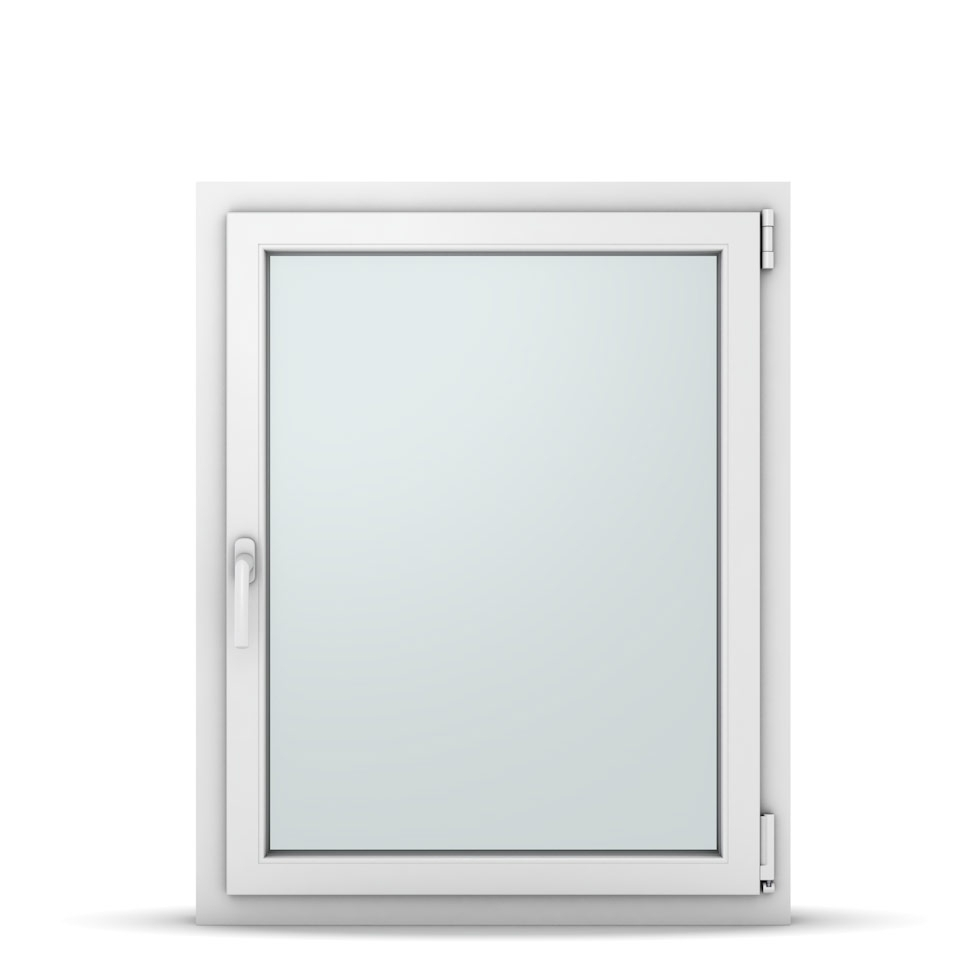 Wohnraumfenster 1-flg. Allegro Max Weiß 800x1000 mm DIN Dreh-Kipp Rechts-37122