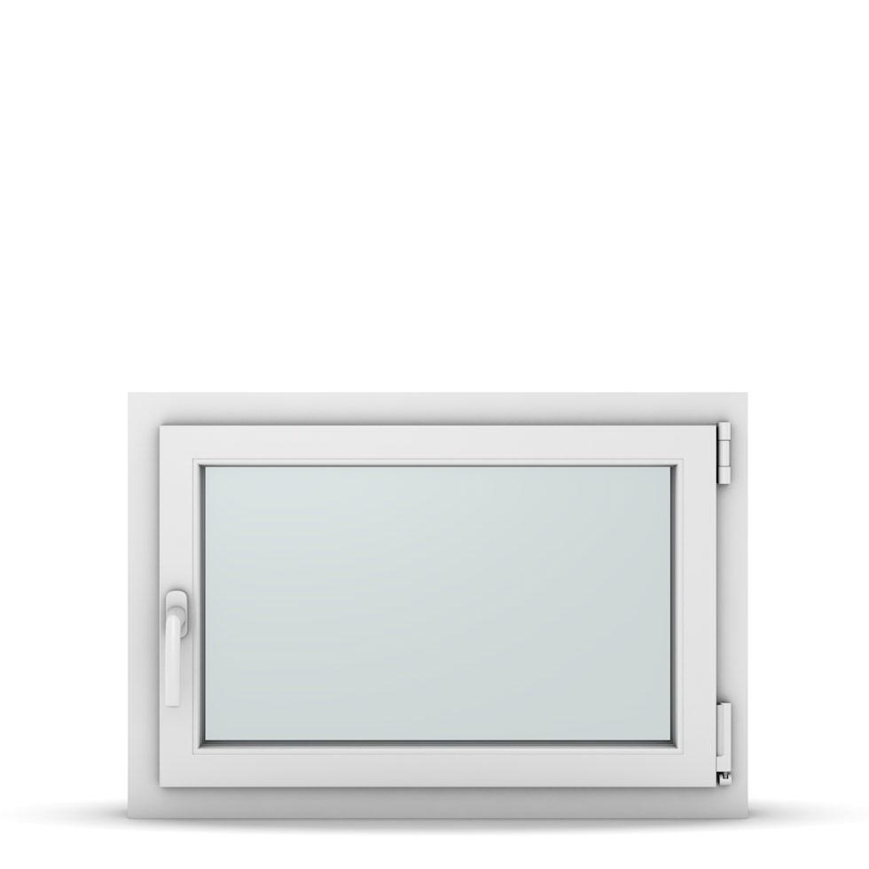 Wohnraumfenster 1-flg. Allegro Max Weiß 800x550 mm DIN Dreh-Kipp Rechts-37113