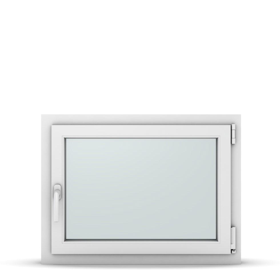 Wohnraumfenster 1-flg. Allegro Max Weiß 800x600 mm DIN Dreh-Kipp Rechts-37114