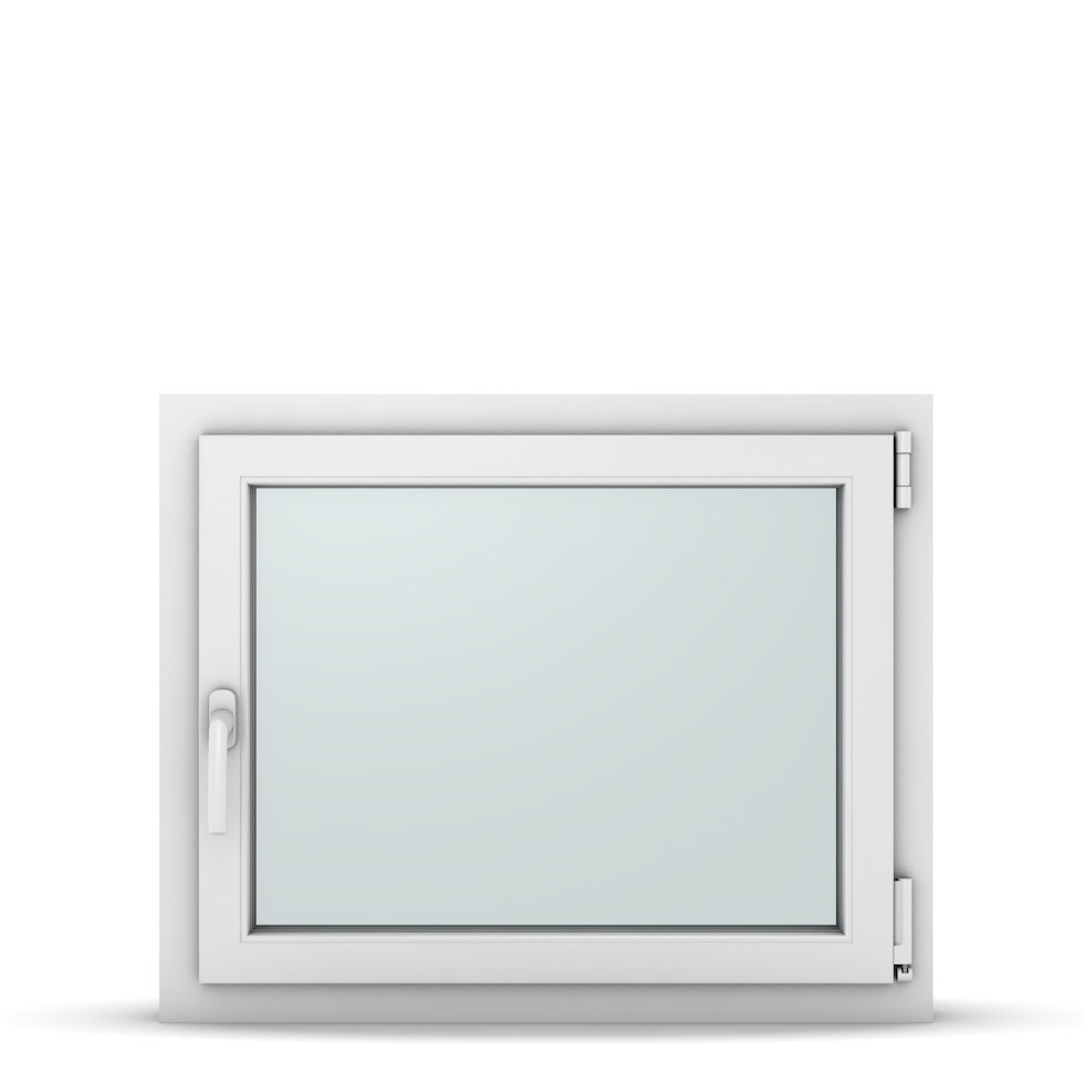 Wohnraumfenster 1-flg. Allegro Max Weiß 800x650 mm DIN Dreh-Kipp Rechts-37115