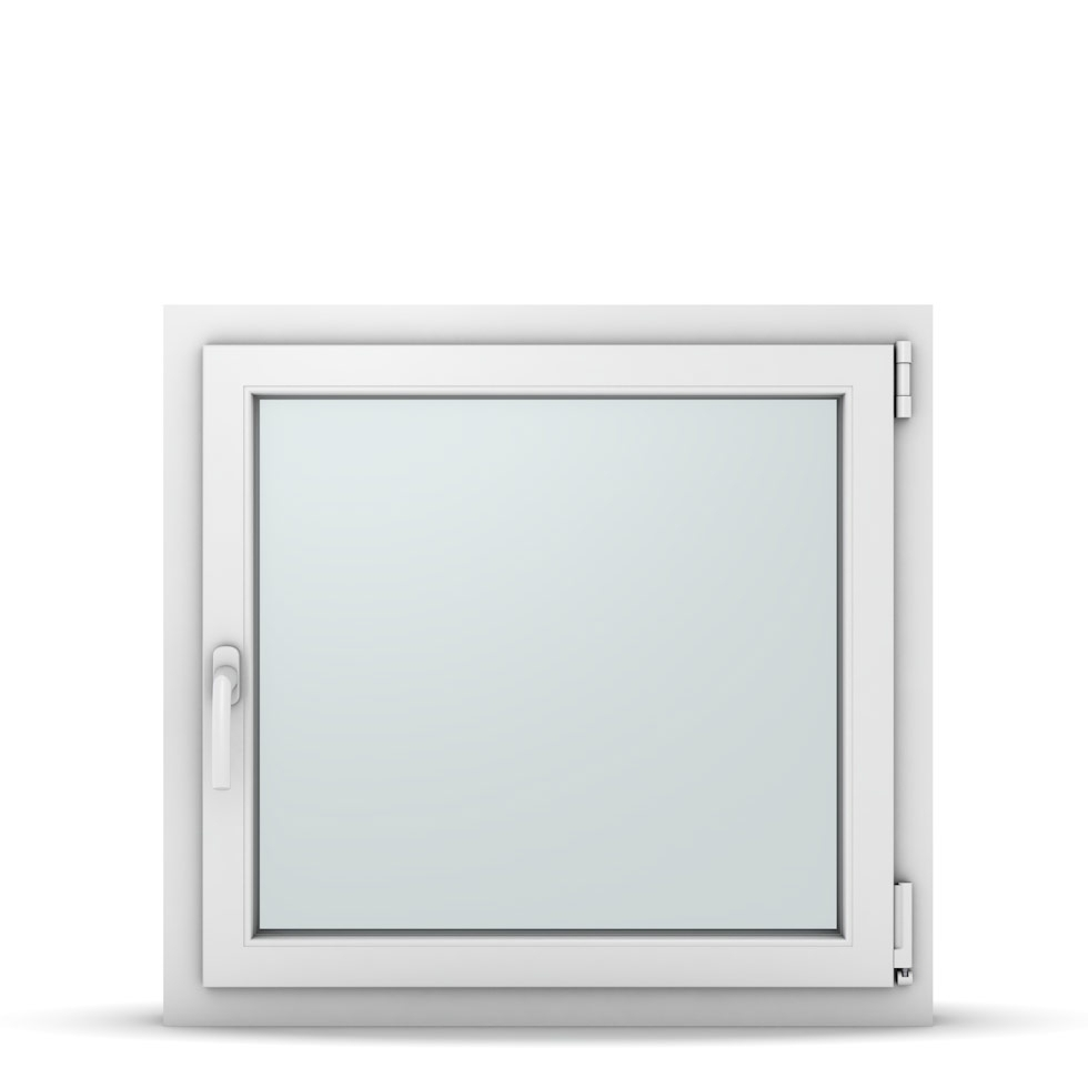 Wohnraumfenster 1-flg. Allegro Max Weiß 800x750 mm DIN Dreh-Kipp Rechts-37117