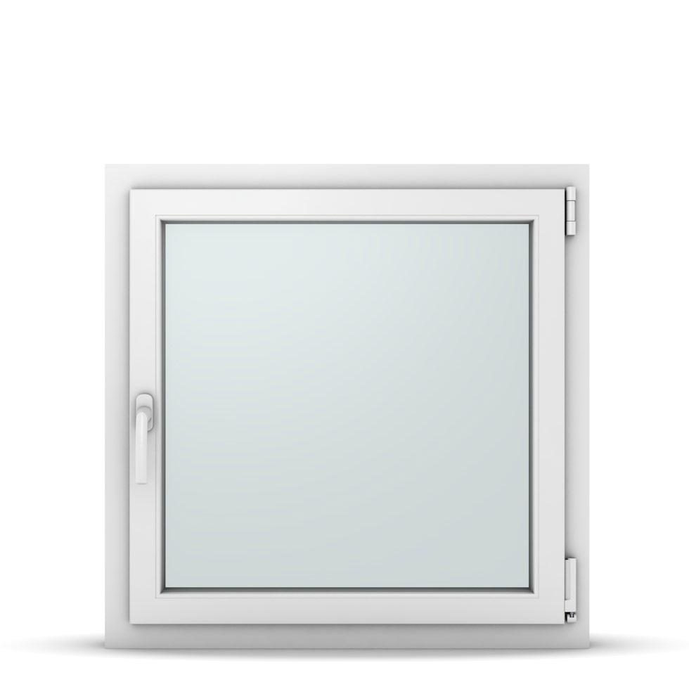 Wohnraumfenster 1-flg. Allegro Max Weiß 800x800 mm DIN Dreh-Kipp Rechts-37118