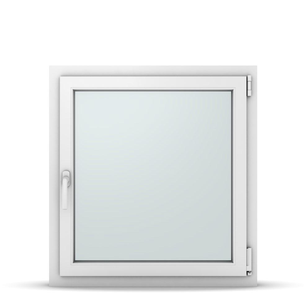 Wohnraumfenster 1-flg. Allegro Max Weiß 800x850 mm DIN Dreh-Kipp Rechts-37119