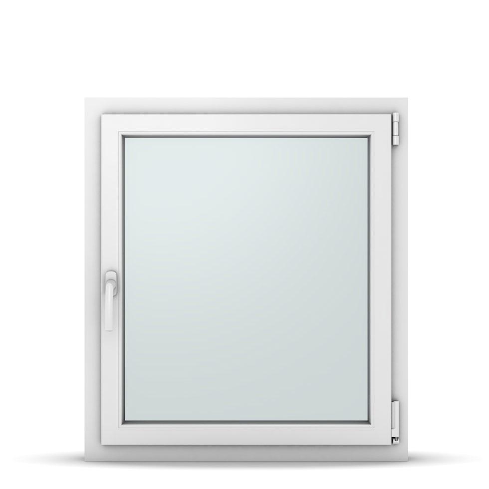 Wohnraumfenster 1-flg. Allegro Max Weiß 800x900 mm DIN Dreh-Kipp Rechts-37120