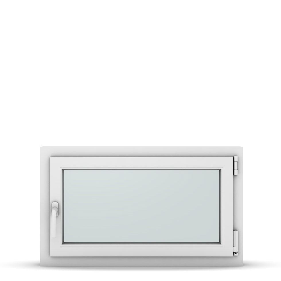 Wohnraumfenster 1-flg. Allegro Max Weiß 850x500 mm DIN Dreh-Kipp Rechts-37137