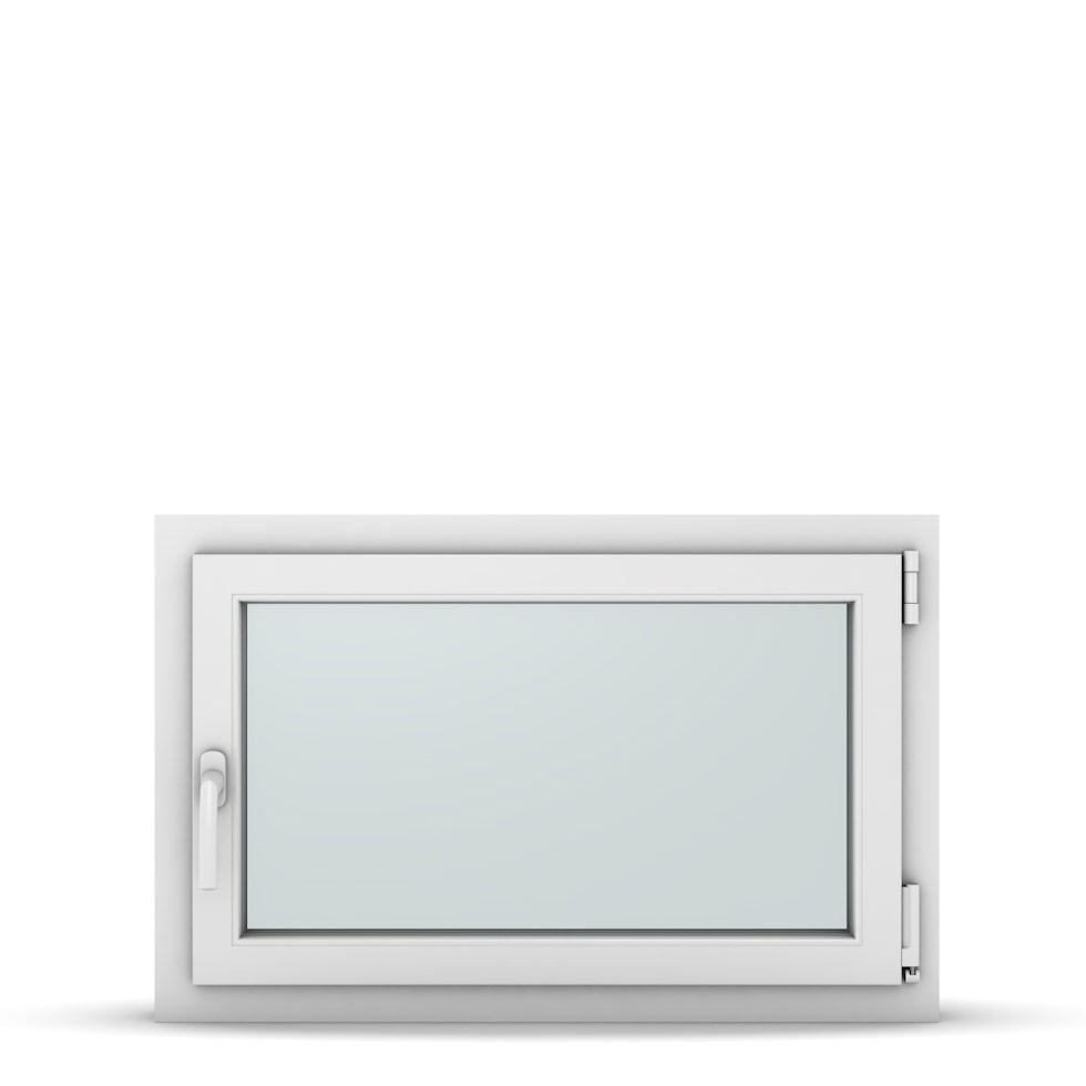 Wohnraumfenster 1-flg. Allegro Max Weiß 850x550 mm DIN Dreh-Kipp Rechts-37138
