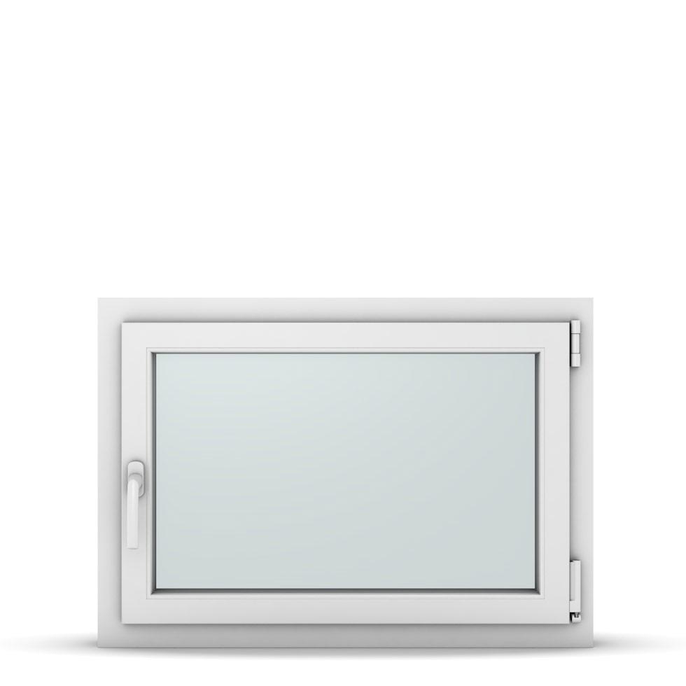 Wohnraumfenster 1-flg. Allegro Max Weiß 850x600 mm DIN Dreh-Kipp Rechts-37139