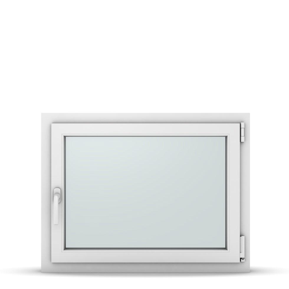 Wohnraumfenster 1-flg. Allegro Max Weiß 850x650 mm DIN Dreh-Kipp Rechts-37140