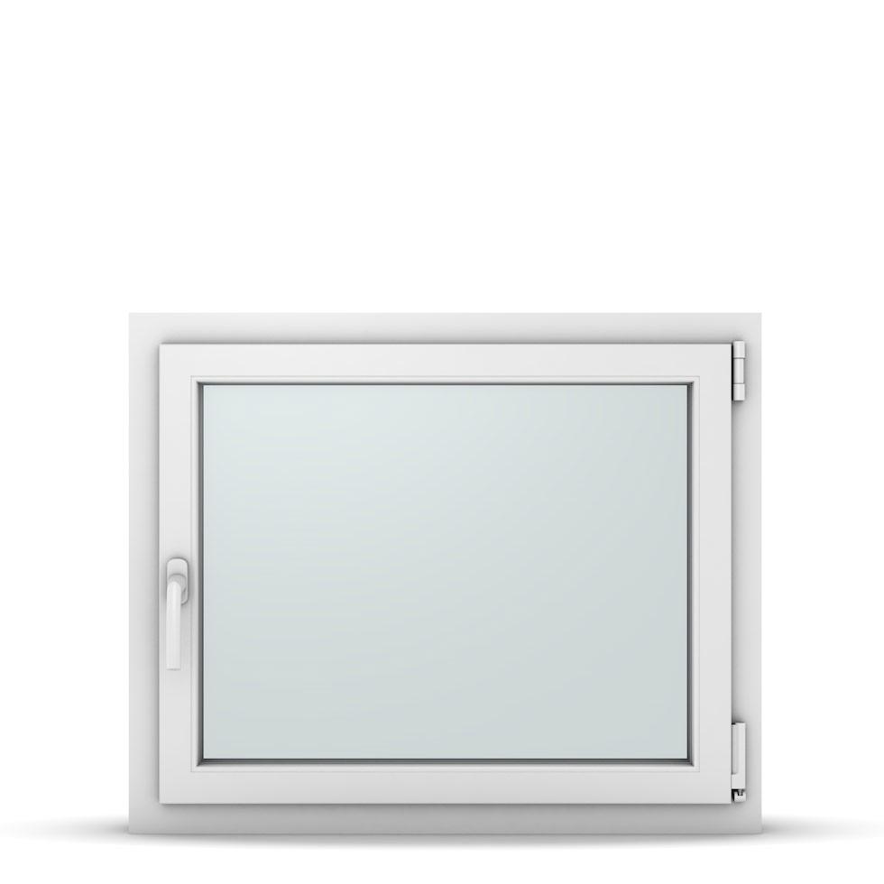 Wohnraumfenster 1-flg. Allegro Max Weiß 850x700 mm DIN Dreh-Kipp Rechts-37141