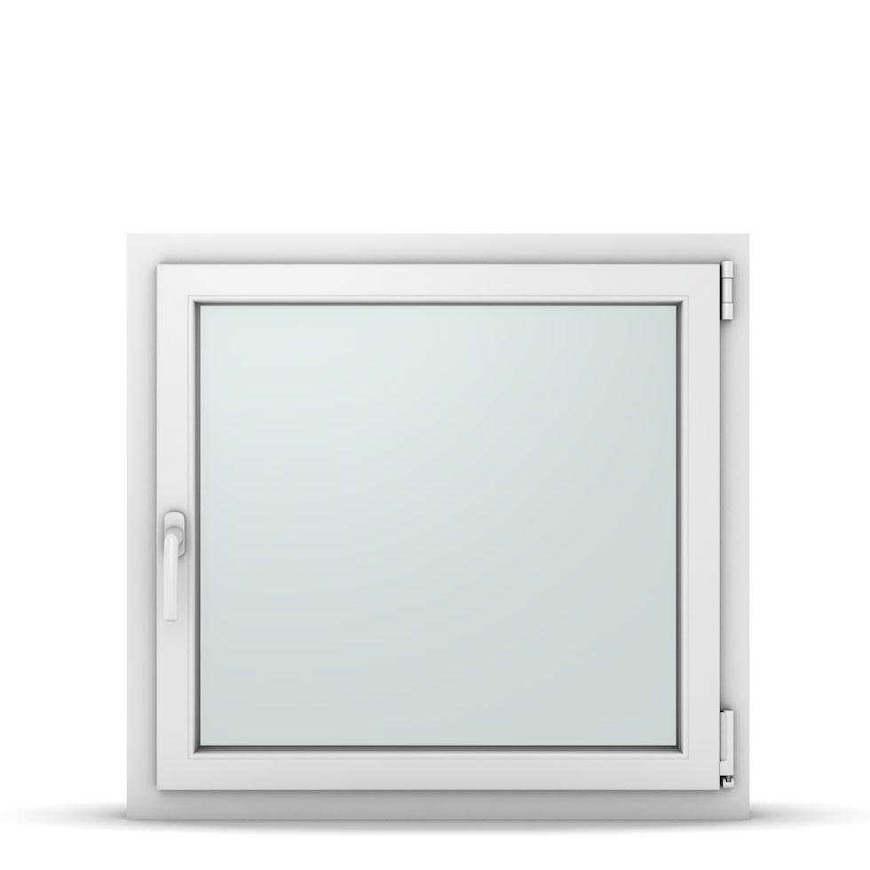 Wohnraumfenster 1-flg. Allegro Max Weiß 850x800 mm DIN Dreh-Kipp Rechts-37143