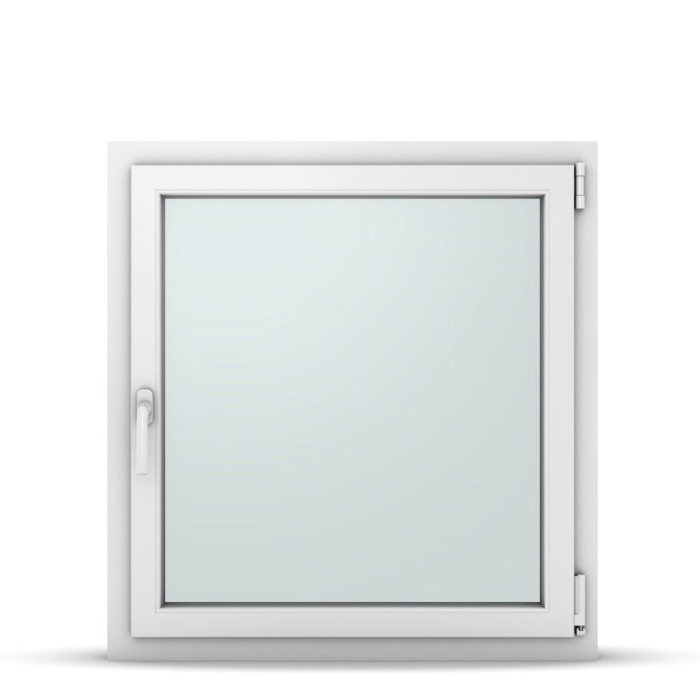 Wohnraumfenster 1-flg. Allegro Max Weiß 850x900 mm DIN Dreh-Kipp Rechts-37145