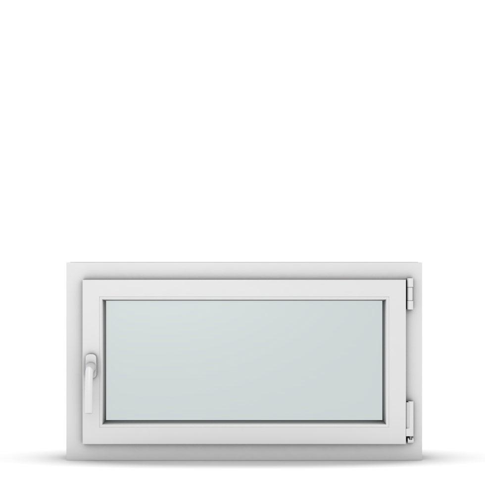 Wohnraumfenster 1-flg. Allegro Max Weiß 900x500 mm DIN Dreh-Kipp Rechts-37162