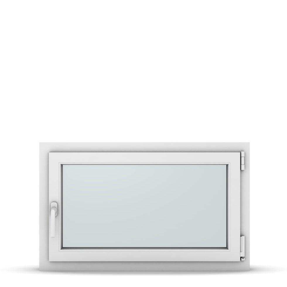 Wohnraumfenster 1-flg. Allegro Max Weiß 900x550 mm DIN Dreh-Kipp Rechts-37163
