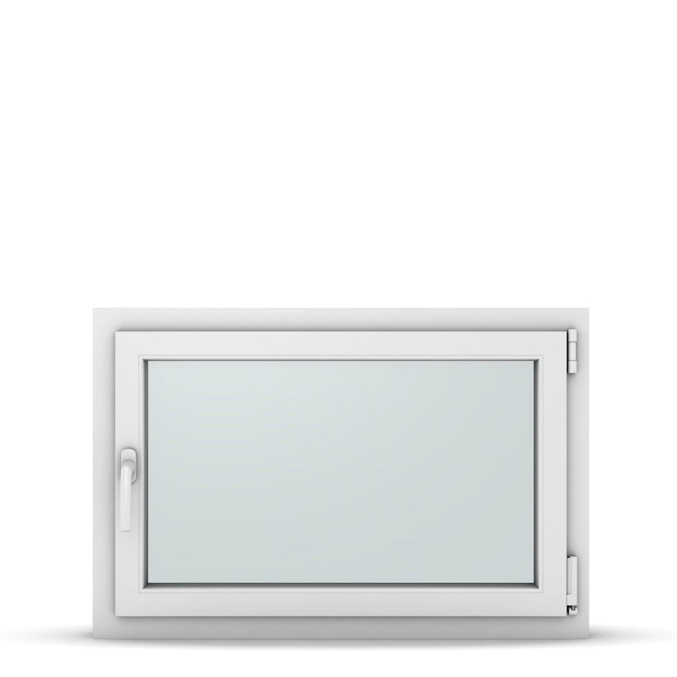 Wohnraumfenster 1-flg. Allegro Max Weiß 900x600 mm DIN Dreh-Kipp Rechts-37164