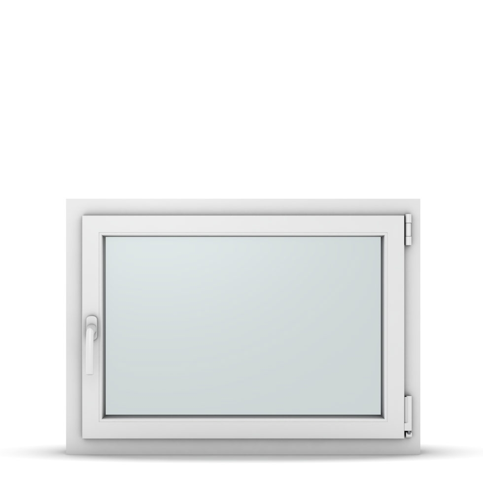 Wohnraumfenster 1-flg. Allegro Max Weiß 900x650 mm DIN Dreh-Kipp Rechts-37165