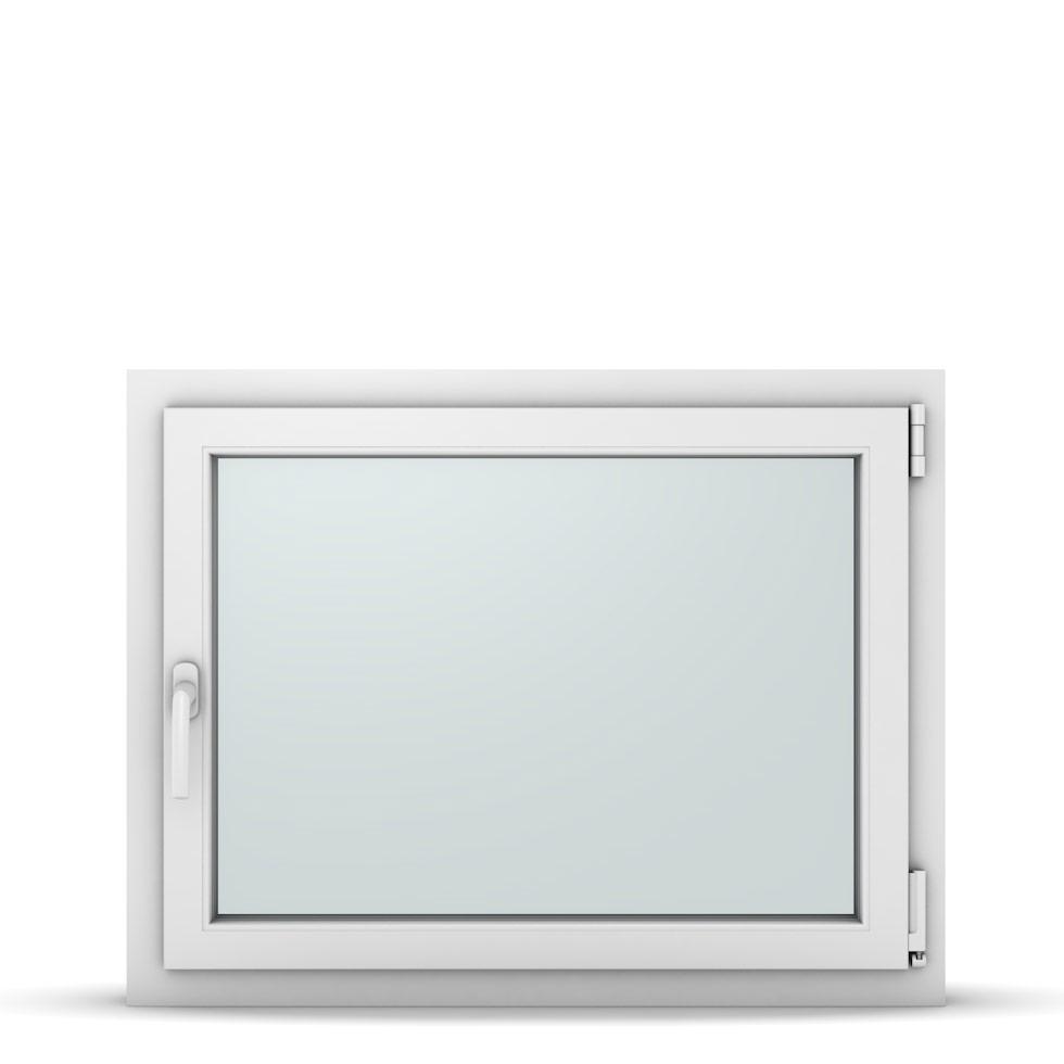 Wohnraumfenster 1-flg. Allegro Max Weiß 900x700 mm DIN Dreh-Kipp Rechts-37166