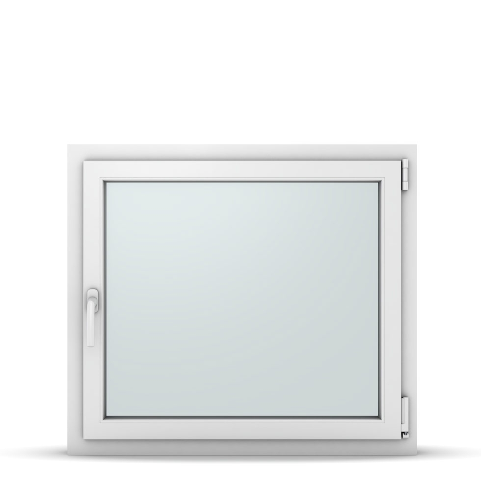 Wohnraumfenster 1-flg. Allegro Max Weiß 900x800 mm DIN Dreh-Kipp Rechts-37168