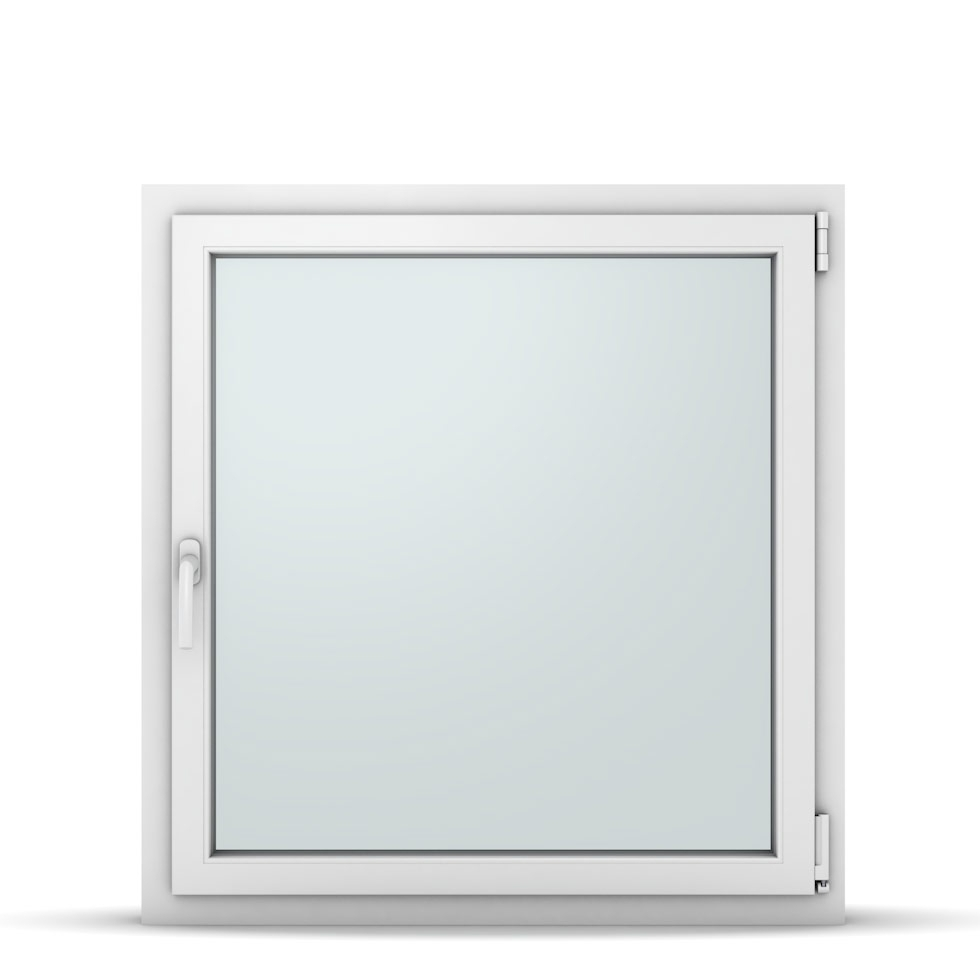 Wohnraumfenster 1-flg. Allegro Max Weiß 950x1000 mm DIN Dreh-Kipp Rechts-37197