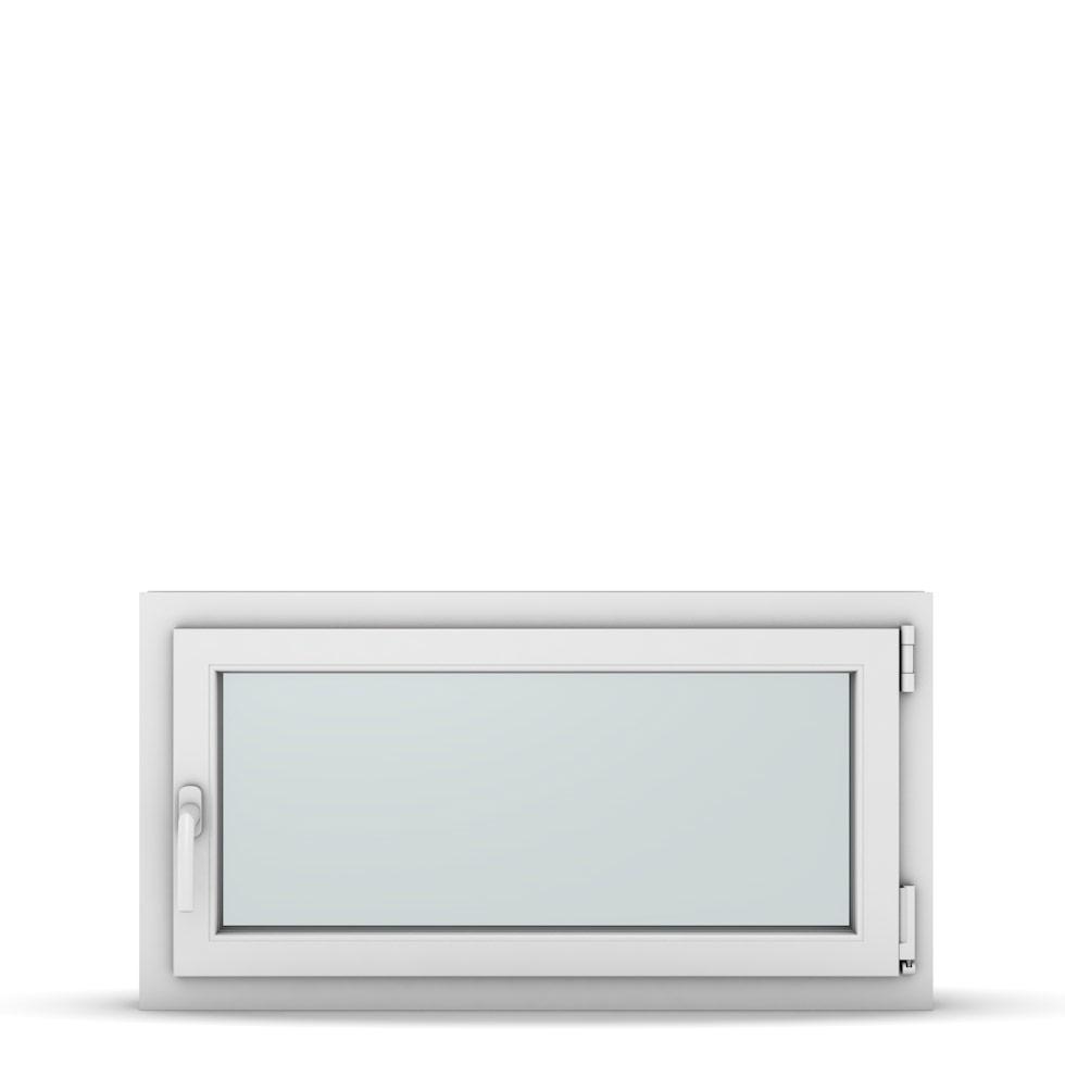 Wohnraumfenster 1-flg. Allegro Max Weiß 950x500 mm DIN Dreh-Kipp Rechts-37187