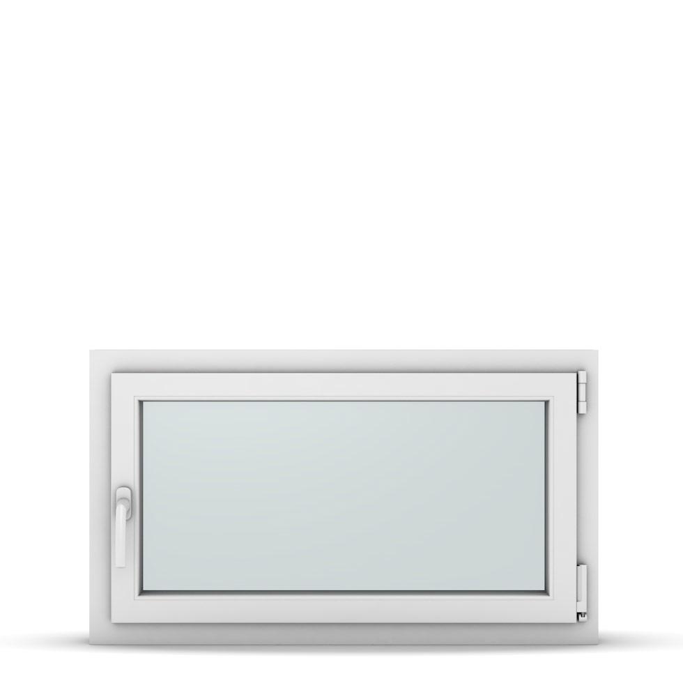Wohnraumfenster 1-flg. Allegro Max Weiß 950x550 mm DIN Dreh-Kipp Rechts-37188