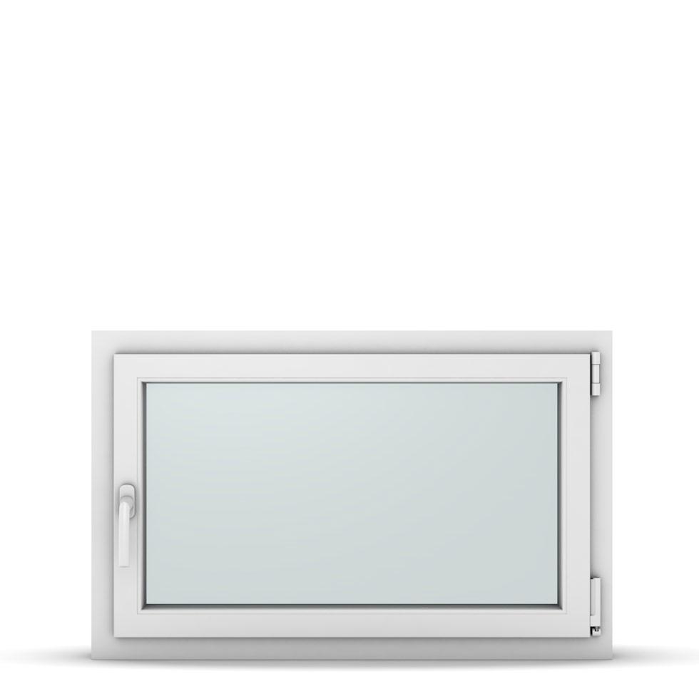Wohnraumfenster 1-flg. Allegro Max Weiß 950x600 mm DIN Dreh-Kipp Rechts-37189
