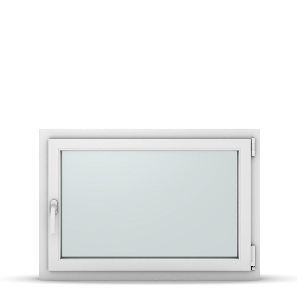 Wohnraumfenster 1-flg. Allegro Max Weiß 950x650 mm DIN Dreh-Kipp Rechts-37190