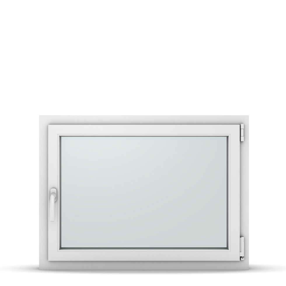 Wohnraumfenster 1-flg. Allegro Max Weiß 950x700 mm DIN Dreh-Kipp Rechts-37191